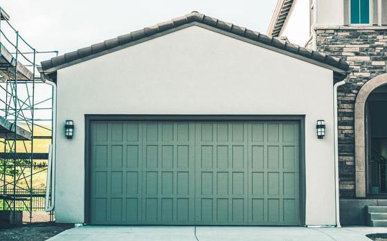 Стандартный проем гаража