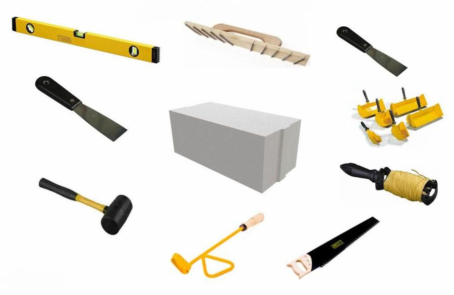 Инструменты для газобетона своими руками